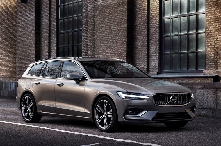 Volvo V60 awarded class-leading residuals