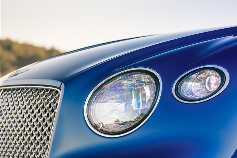 Gallery: The headlights are unmistakably Continental, but the old twin set-up makes way for curvier single units.