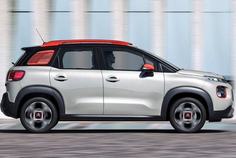 More SUV than MPV, Citroen has followed the recent trend of turning people carriers into crossovers.