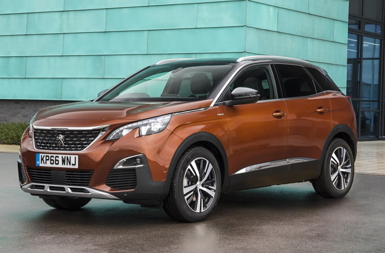 Peugeot's 3008 topped the survey this year.