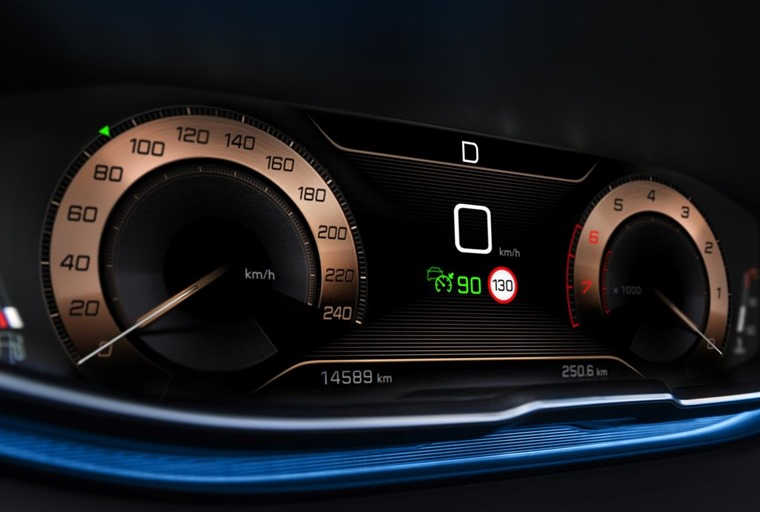 Peugeot 3008 intelligent dashboard