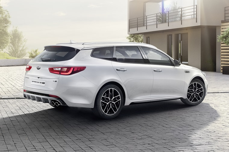 Kia Optima Sportswagon 2018 rear