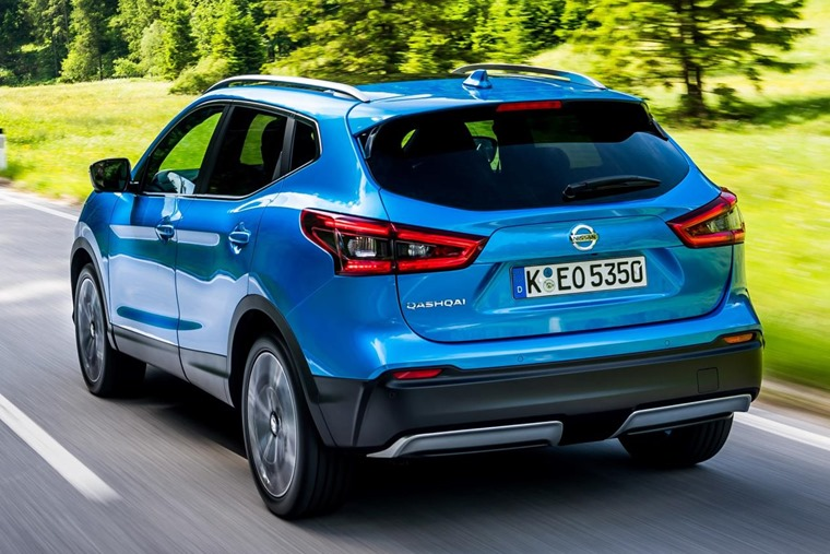 The new Qashqai will be available from mid-July.
