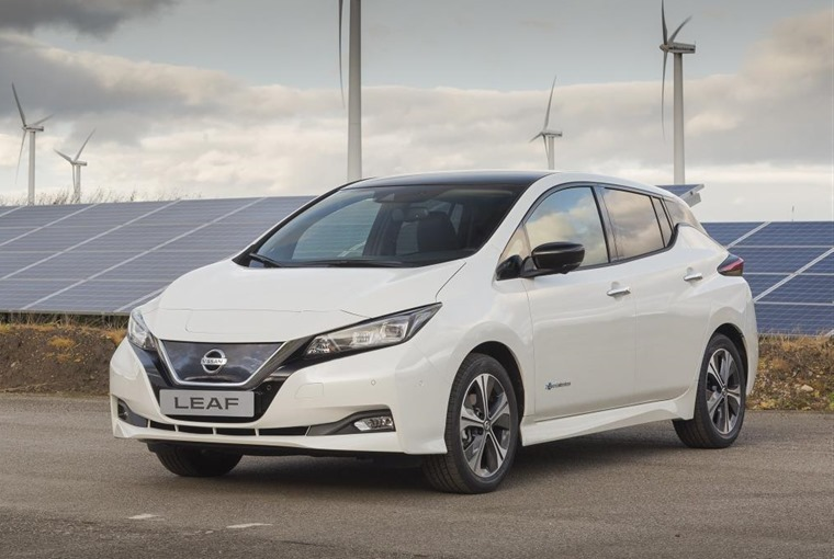 Nissan Leaf 18 plate deals