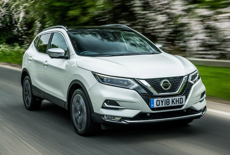 Top five SUVs for less than £250 per month