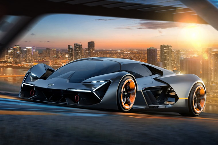 Great Lamborghini Terzo Millennio: A Crazy Self Healing Hypercar For The Year 3000 U2026
