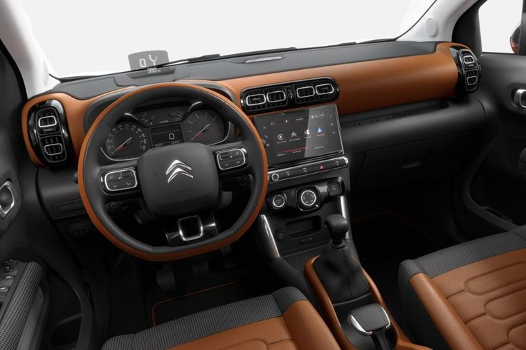 The interior promises many customisable options, as well as lots of space.