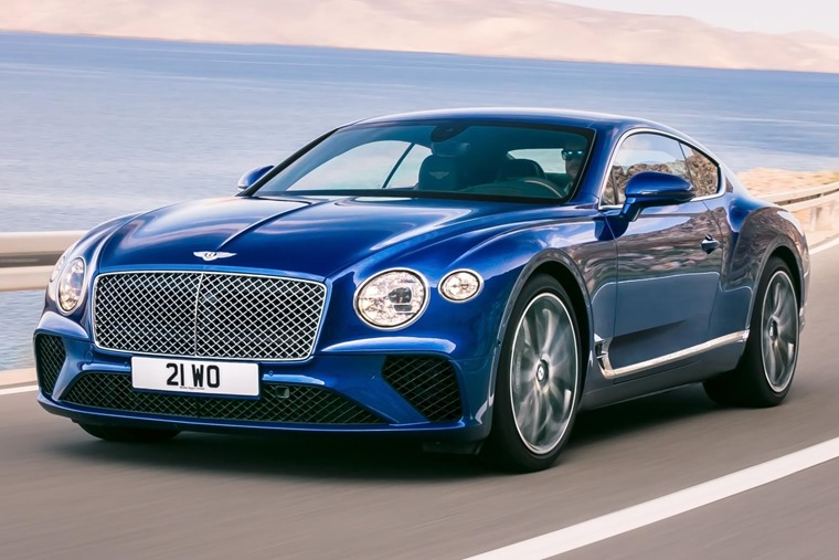 Sitting on an all-new platform, this is the next-gen Bentley Continental GT.