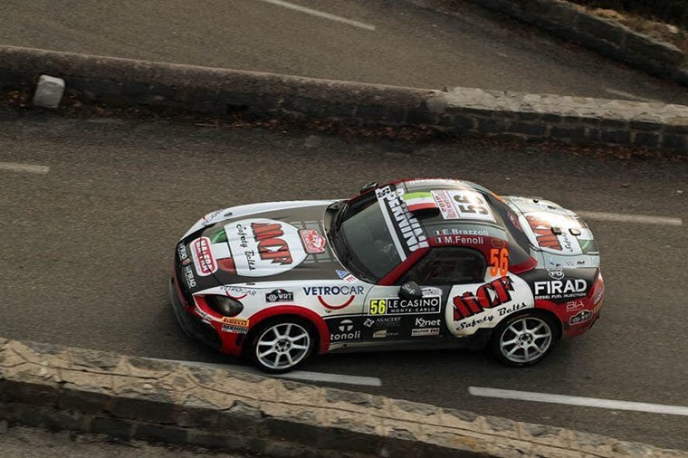 Bernini Rally Team Abarth 124 Spider Rally Monte Carlo