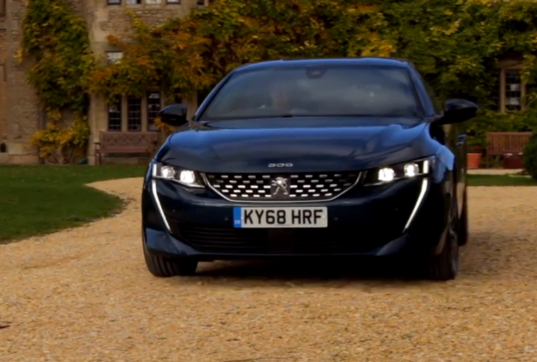 Video review: Peugeot 508 Fastback