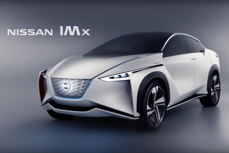 Nissan's IMx – features pioneering 'Canto' sound effects.