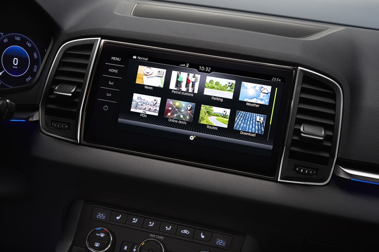 Three levels of infotainment are on offer depending on trim.