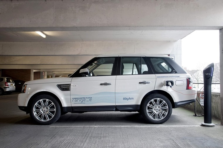 LR has given us a glimpse of hybrids before, like the Range_e pictured here. That was before diesel's downfall began though.