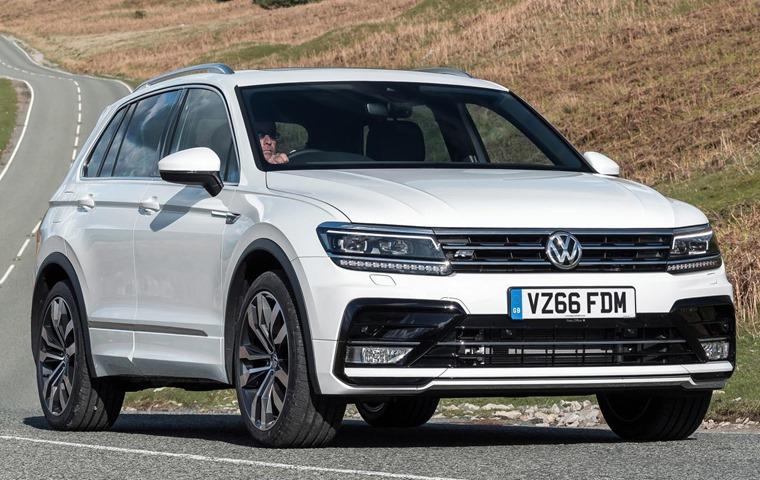 66-plate Volkswagen Tiguan