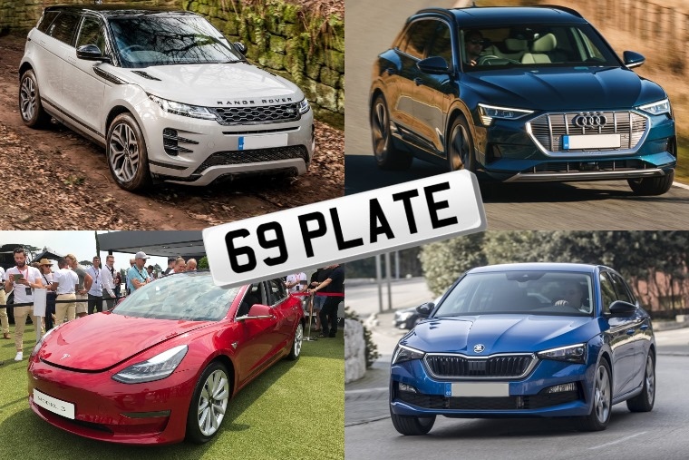 69 plate top cars