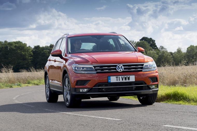 Volkswagen Tiguan car leasing deals are trending