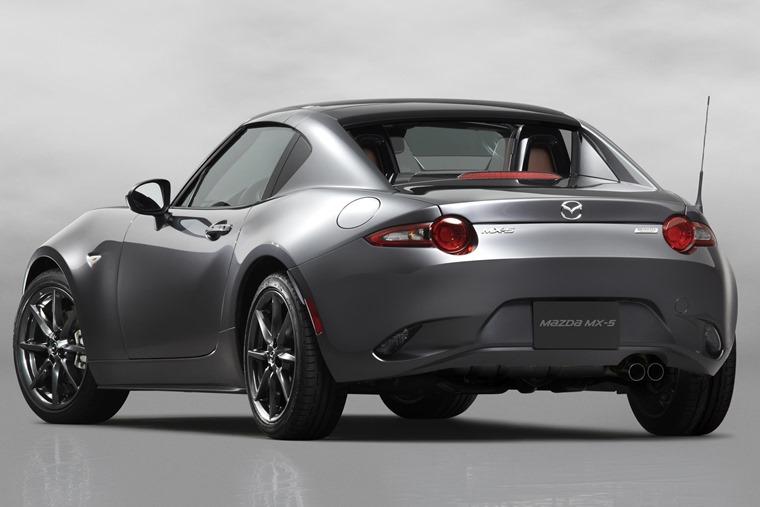 Mazda MX5 RF rear side