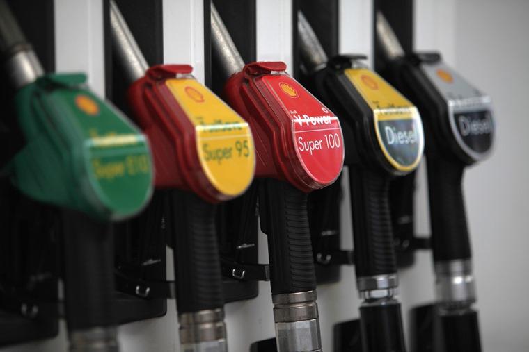 Premium and regular fuel pumps