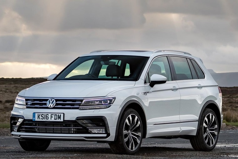Volkswagen Tiguan SUV lease deal under £250