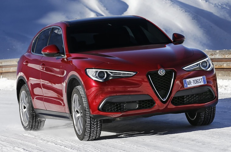 The four-wheel-drive system should be capable of keeping the Stelvio going when the tarmac runs out.