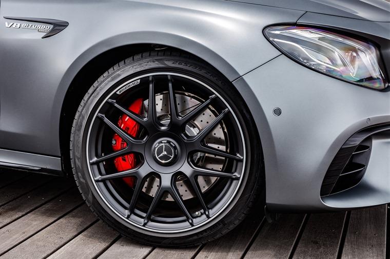 Mercedes-AMG E63 S alloys closeup