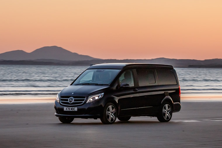 Mercedes-Benz Marco Polo sunset