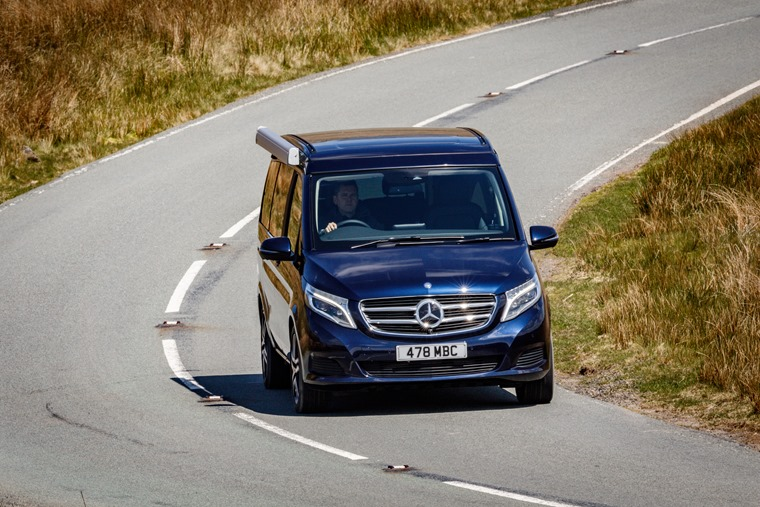 Mercedes-Benz Marco Polo on the road