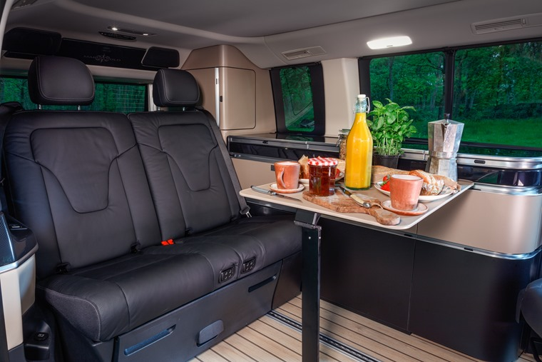 Mercedes-Benz Marco Polo lunch