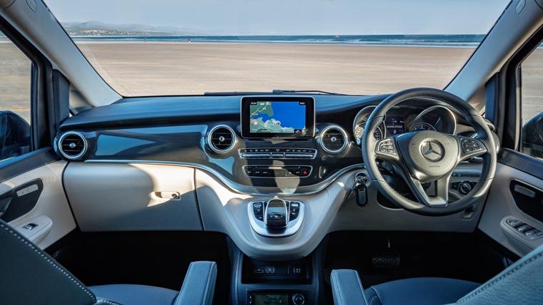 Mercedes-Benz Marco Polo driving position