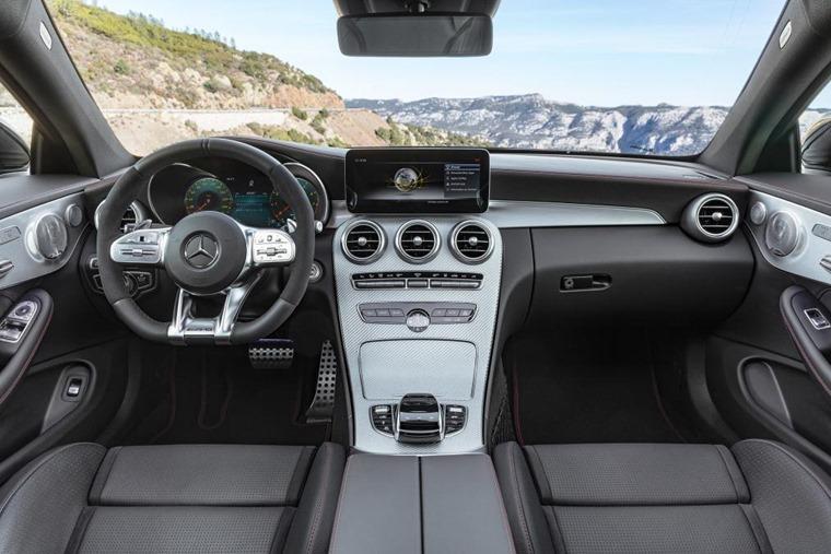 C-Class Coupe Cabriolet interior 2018