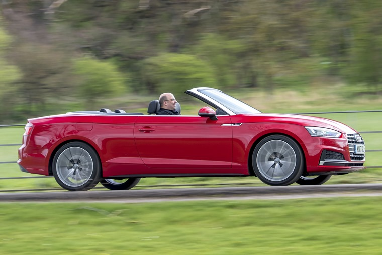 Phil Huff Audi A5 Cabriolet offside