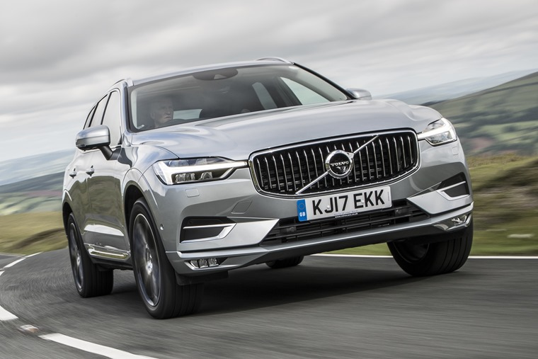 New Volvo XC60 front dynamic