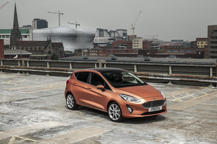 Of the 120,000 Fiestas registered in the last 12 months, 70% were five-door models