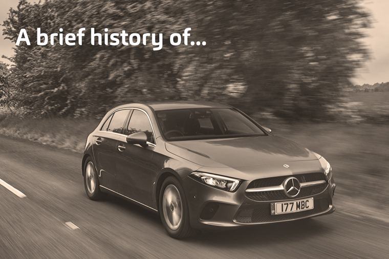 A brief history of Mercedes-Benz A-Class