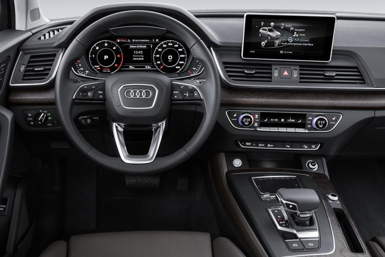 Interior close-up Audi Q5