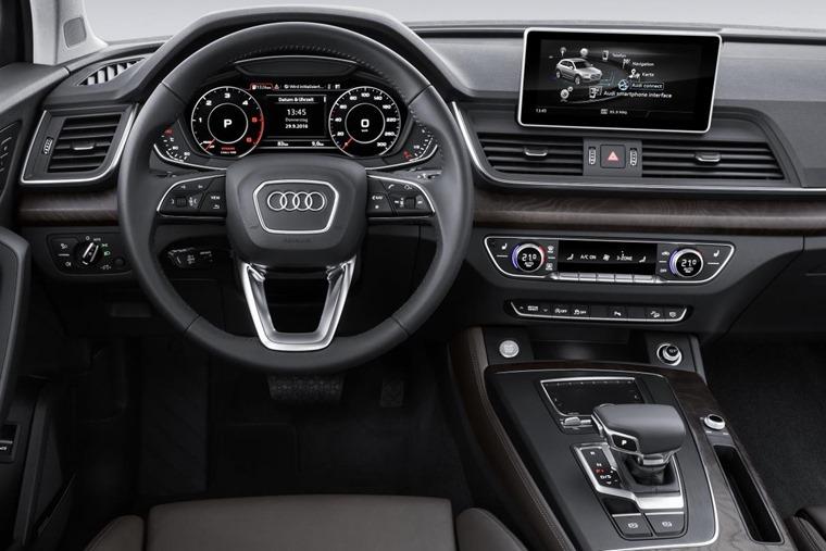 Interior close-up Audi Q5
