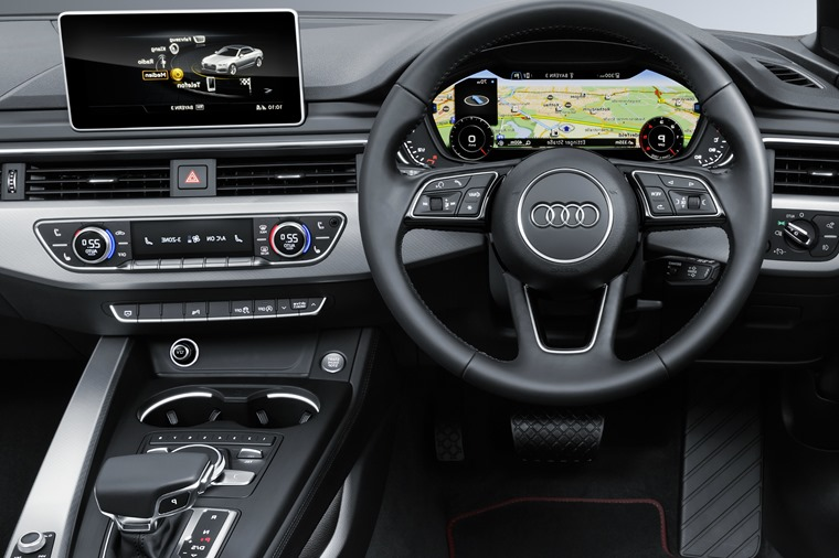 Phil Huff Audi A5 Cabriolet interior detail