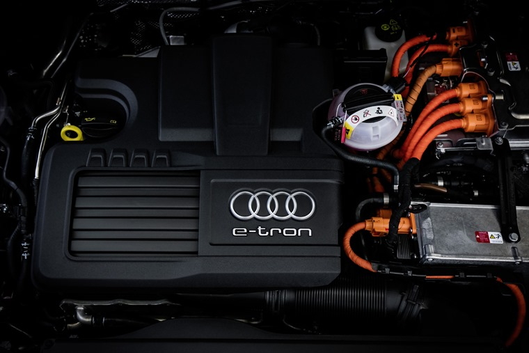 Audi A3 Sportback e-tron engine