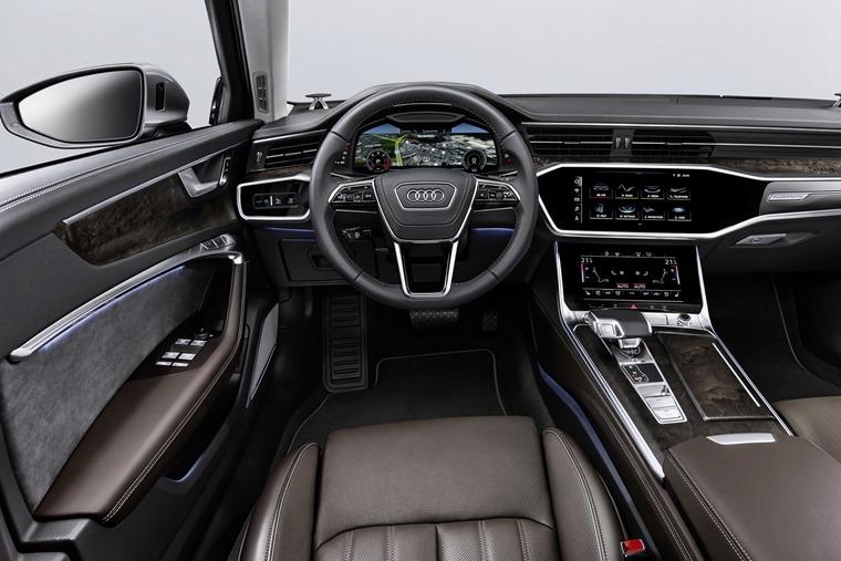 2018 Audi A6 infotainment