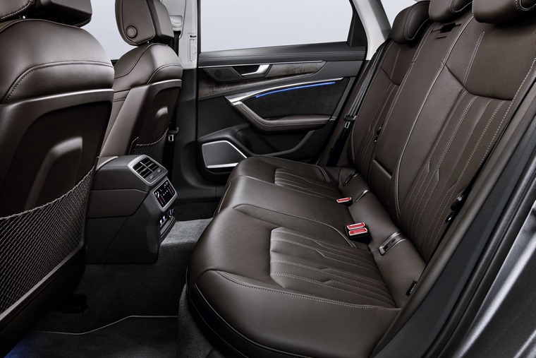2018 Audi A6 rear legroom