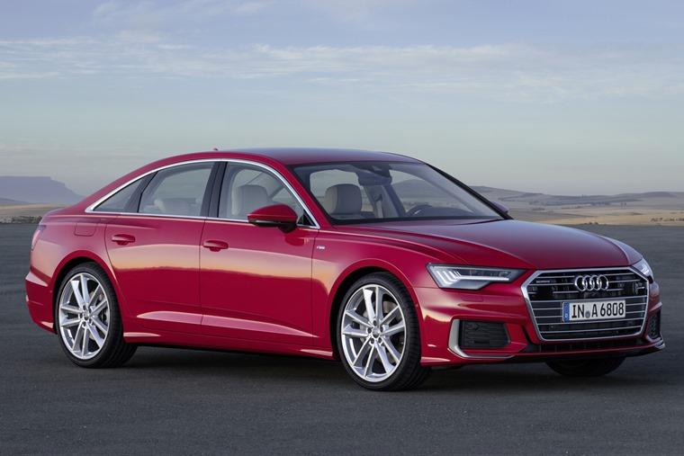 2018 Audi A6 front