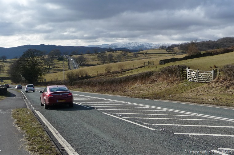 The A591 between Kendal and Keswick has been named UK's best driving road