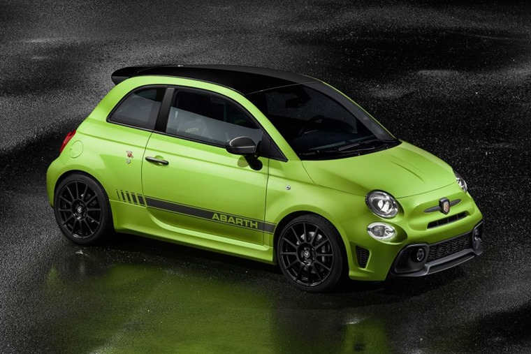 Abarth 595 2018 update