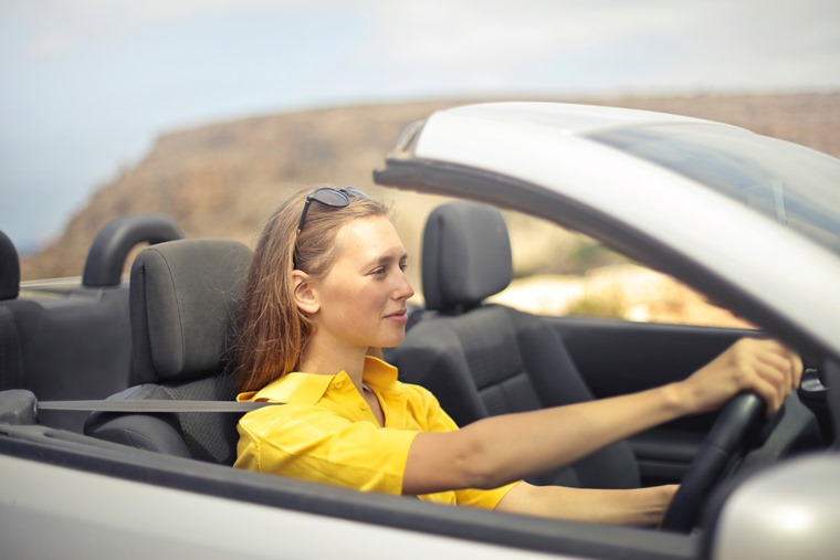 Cars registered to females have increased by 21% in 10 years.