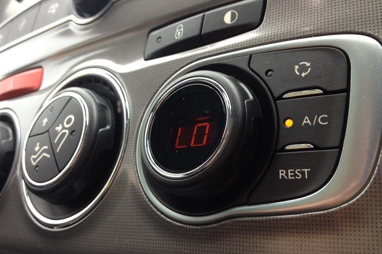 Air Conditioning control panel Citroen C4