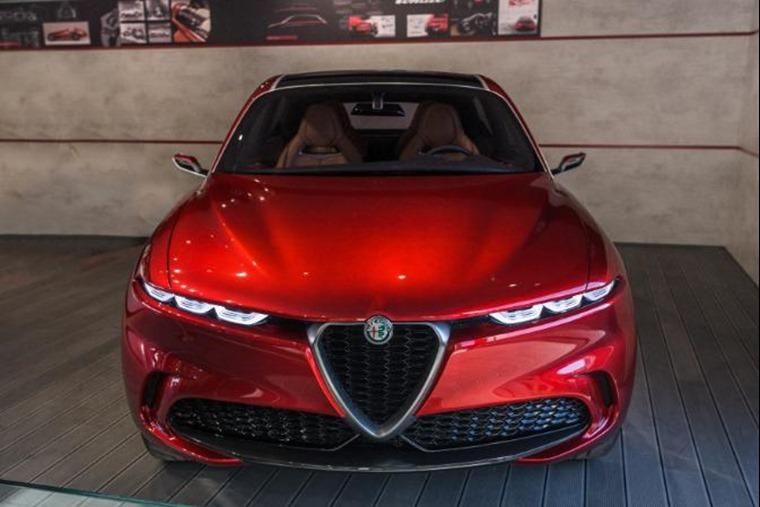 Alfa Romeo Tonale front Goodwood FoS