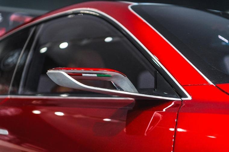 Alfa Romeo Tonale wing mirror Goodwood FoS