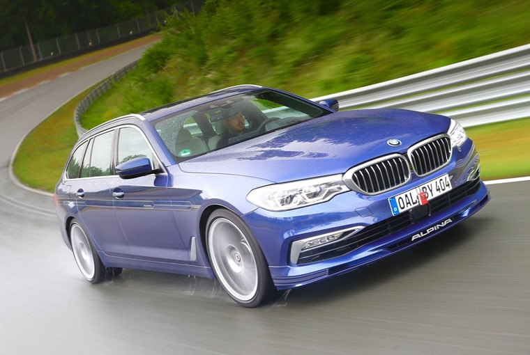The 205 mph Alpina B5 Touring – the fastest estate car in the world.