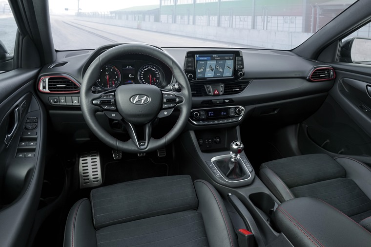 All-New Hyundai i30 Fastback N Interior (6)