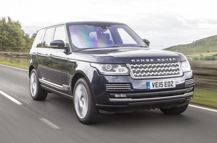The Range Rover utilises an advanced four-wheel-drive system.